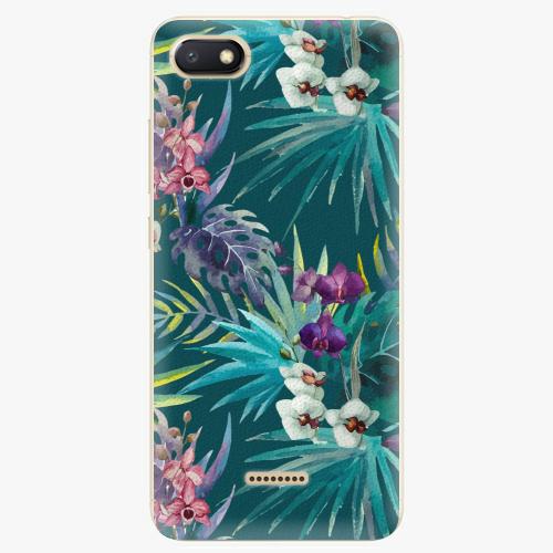 Plastový kryt iSaprio - Tropical Blue 01 - Xiaomi Redmi 6A