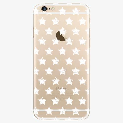 Plastový kryt iSaprio - Stars Pattern - white - iPhone 6/6S