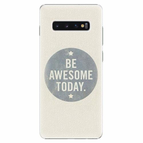 Plastový kryt iSaprio - Awesome 02 - Samsung Galaxy S10+
