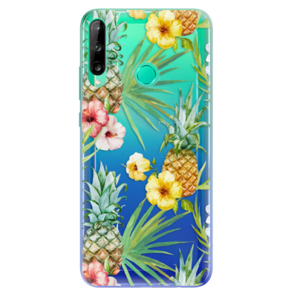 Odolné silikonové pouzdro iSaprio - Pineapple Pattern 02 - Huawei P40 Lite E