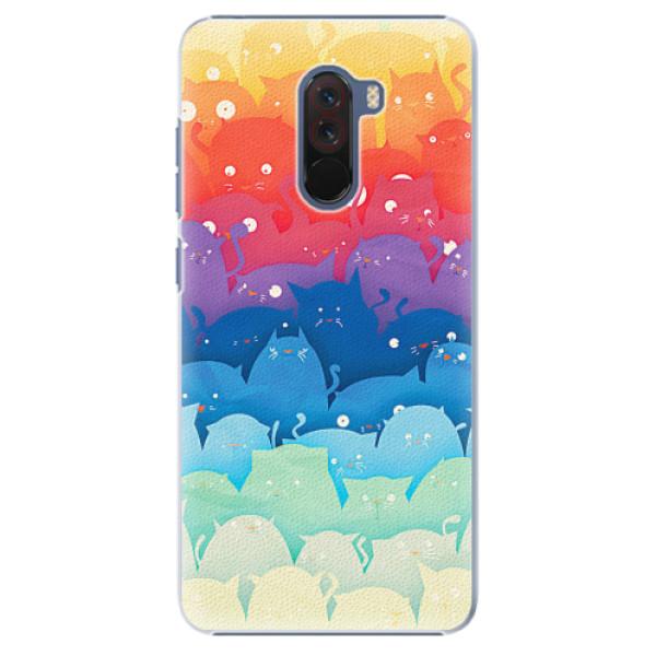 Plastové pouzdro iSaprio - Cats World - Xiaomi Pocophone F1