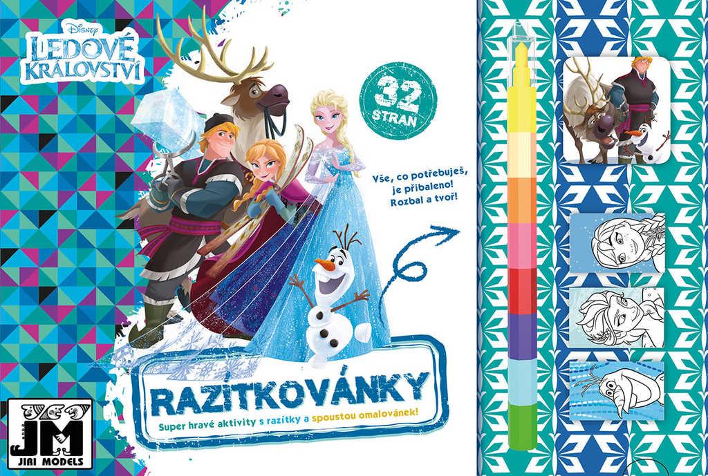 JIRI MODELS Razítkovánky Frozen (Ledové Království) kreativní sešit s aktivitami