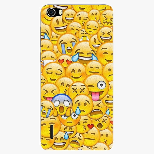 Plastový kryt iSaprio - Emoji - Huawei Honor 6