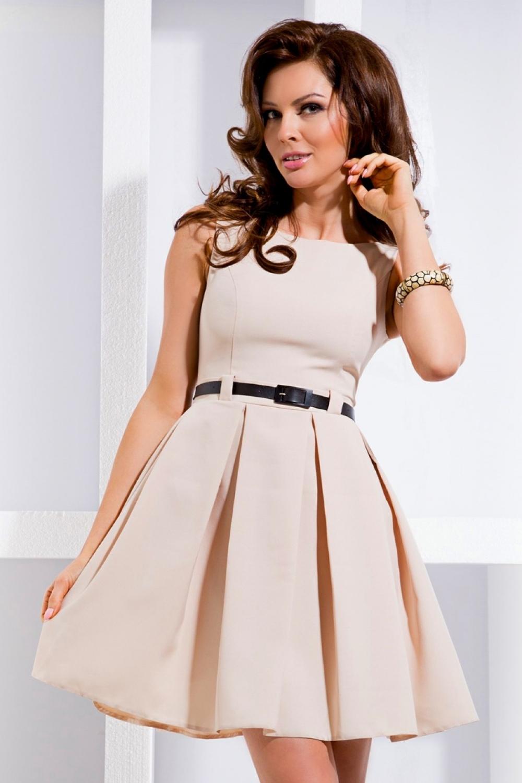 Dámské šaty 6-1 - Béžová XL empty 01fd2192042