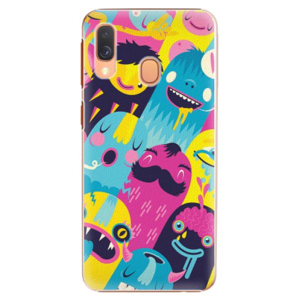 Plastové pouzdro iSaprio - Monsters - Samsung Galaxy A40