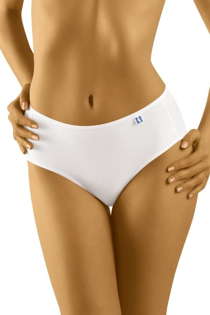 Dámské kalhotky WOLBAR Tahoo midi plus bílé