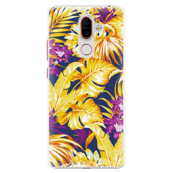 Plastové pouzdro iSaprio - Tropical Orange 04 - Nokia 7 Plus