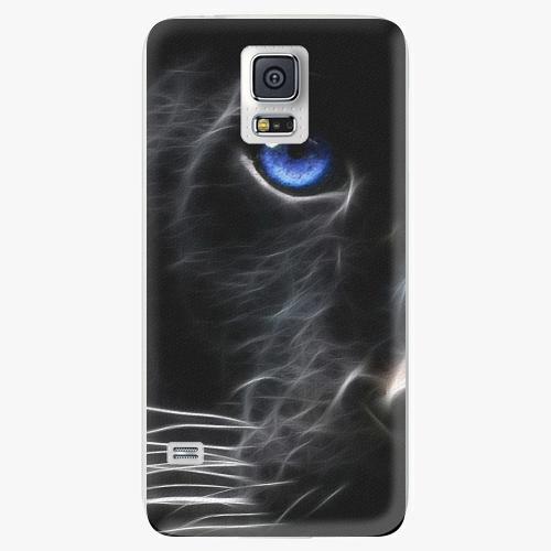 Plastový kryt iSaprio - Black Puma - Samsung Galaxy S5