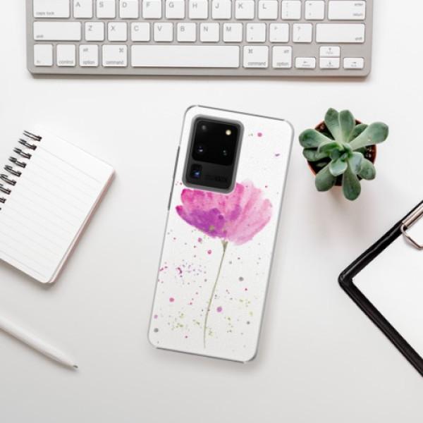 Plastové pouzdro iSaprio - Poppies - Samsung Galaxy S20 Ultra