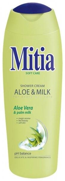 Soft Care Aloe & Milk sprchový gel 400 ml