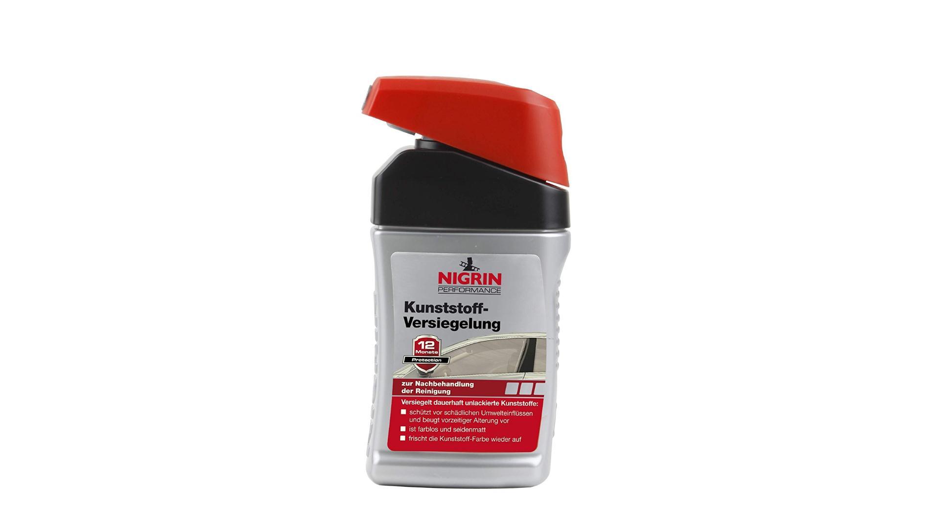 Nigrin Přípravek na ochranu (konzervování) plastů 300ml