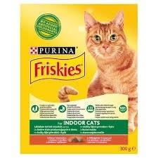 Indoor pro kočky žijící převážně v bytě s kuřetem a se zeleninou granule pro kočky 300 g