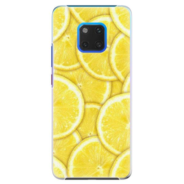 Plastové pouzdro iSaprio - Yellow - Huawei Mate 20 Pro