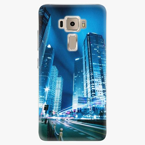 Plastový kryt iSaprio - Night City Blue - Asus ZenFone 3 ZE520KL