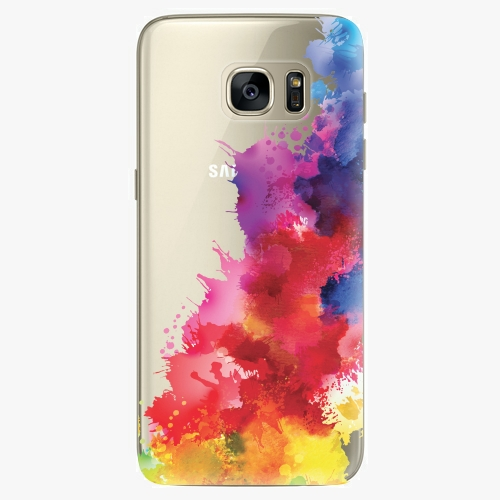 Plastový kryt iSaprio - Color Splash 01 - Samsung Galaxy S7 Edge
