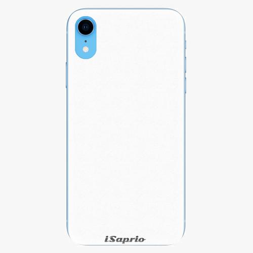 Silikonové pouzdro iSaprio - 4Pure - bílý - iPhone XR