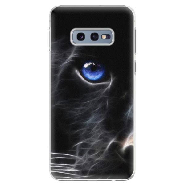 Plastové pouzdro iSaprio - Black Puma - Samsung Galaxy S10e