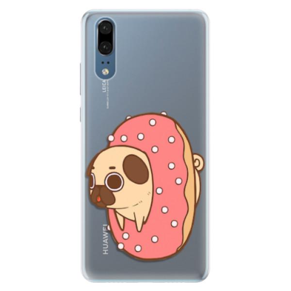 Silikonové pouzdro iSaprio - Dog 04 - Huawei P20