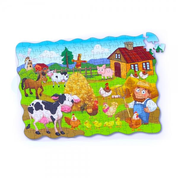 Puzzle farma 208 ks, 90x64 cm
