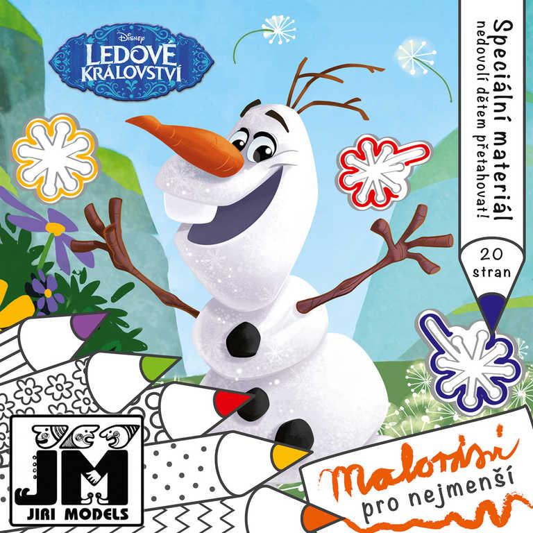 JIRI MODELS Omalovánky pro nejmenší Ledové Království (Frozen)