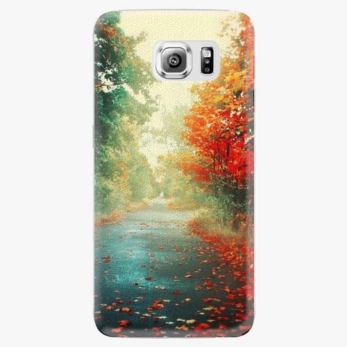 Plastový kryt iSaprio - Autumn 03 - Samsung Galaxy S6 Edge Plus