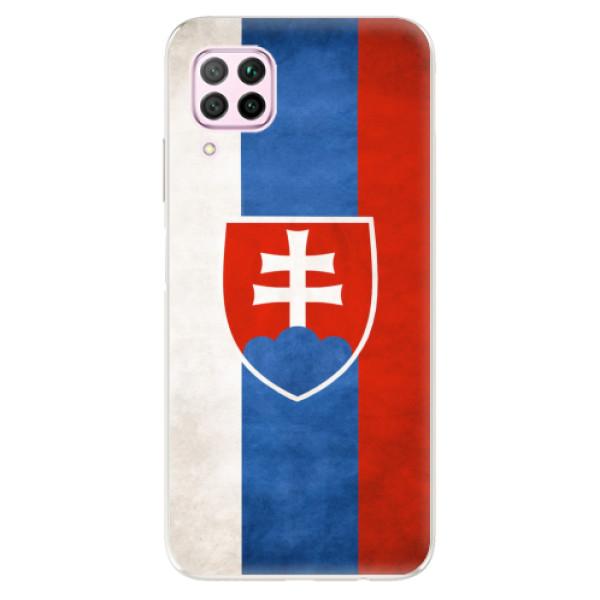 Odolné silikonové pouzdro iSaprio - Slovakia Flag - Huawei P40 Lite