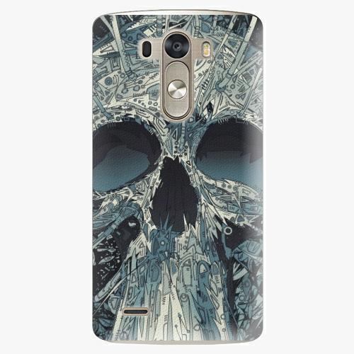 Plastový kryt iSaprio - Abstract Skull - LG G3 (D855)
