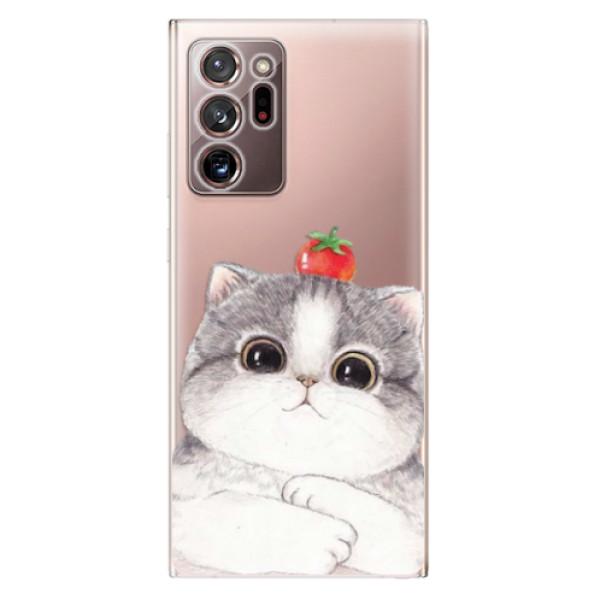 Odolné silikonové pouzdro iSaprio - Cat 03 - Samsung Galaxy Note 20 Ultra