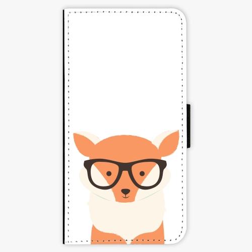 Flipové pouzdro iSaprio - Orange Fox - iPhone 6/6S