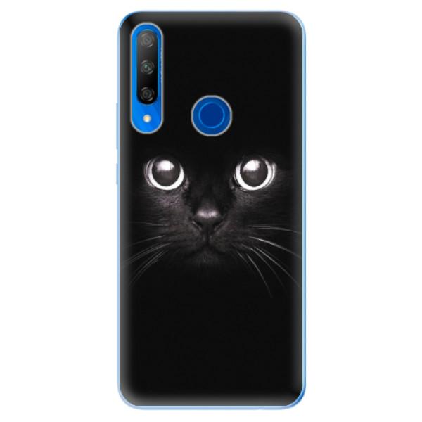 Odolné silikonové pouzdro iSaprio - Black Cat - Huawei Honor 9X