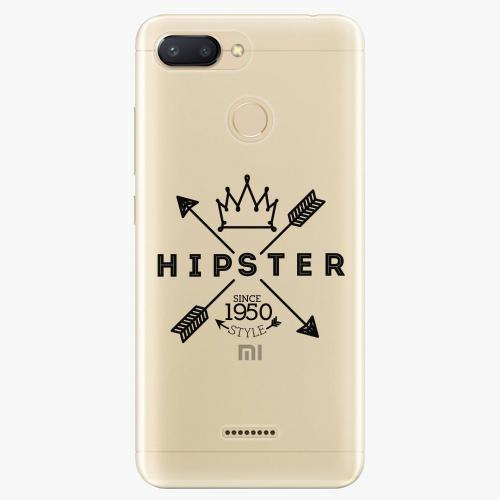 Silikonové pouzdro iSaprio - Hipster Style 02 - Xiaomi Redmi 6