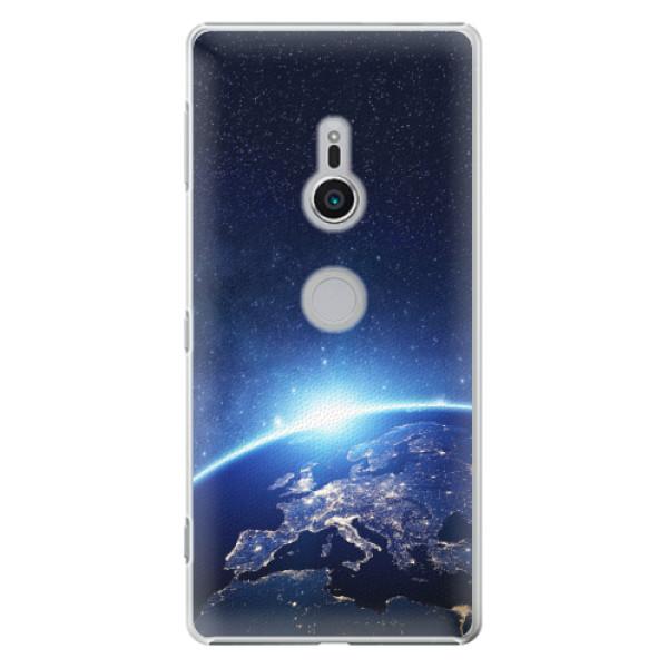 Plastové pouzdro iSaprio - Earth at Night - Sony Xperia XZ2