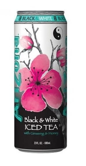 Black & White Iced Tea 680 ml