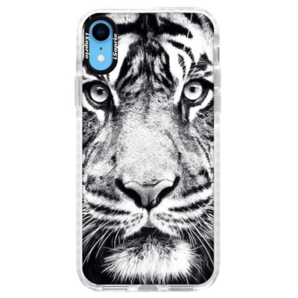 Silikonové pouzdro Bumper iSaprio - Tiger Face - iPhone XR