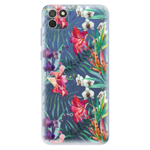 Odolné silikonové pouzdro iSaprio - Flower Pattern 03 - Honor 9S