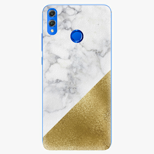 Gold and WH Marble   Huawei Honor 8X