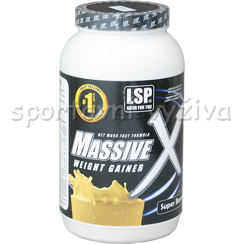 Massive X weightgainer - 1200g-super-banana