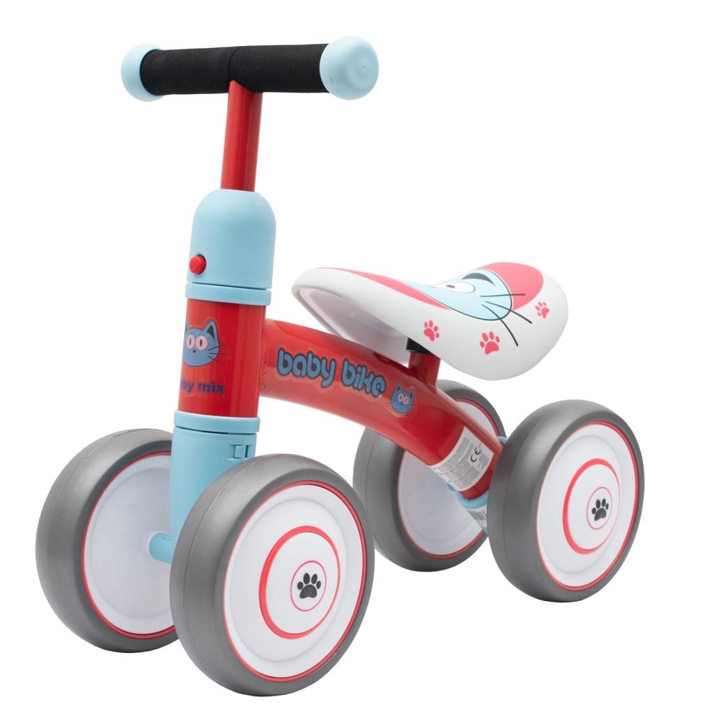 Dětské odrážedlo Baby Mix Baby Bike - červené - červená