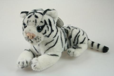 Plyš Tygr bílý malý