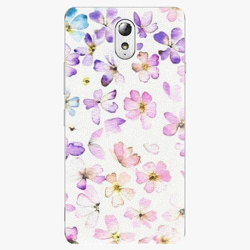 Plastový kryt iSaprio - Wildflowers - Lenovo P1m