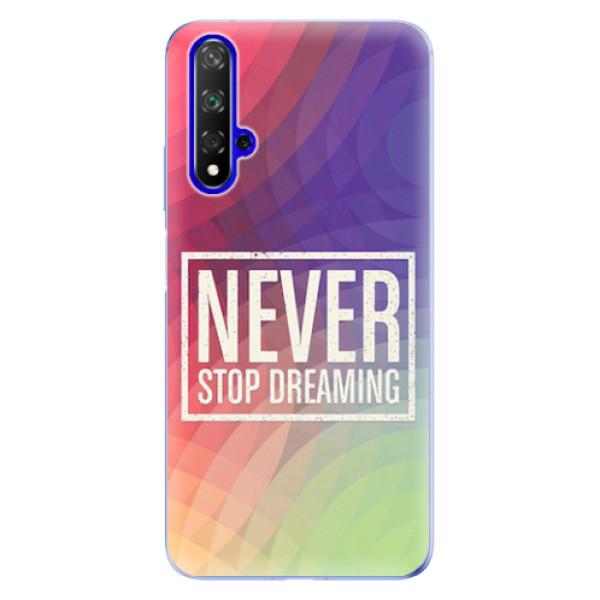 Odolné silikonové pouzdro iSaprio - Dreaming - Huawei Honor 20