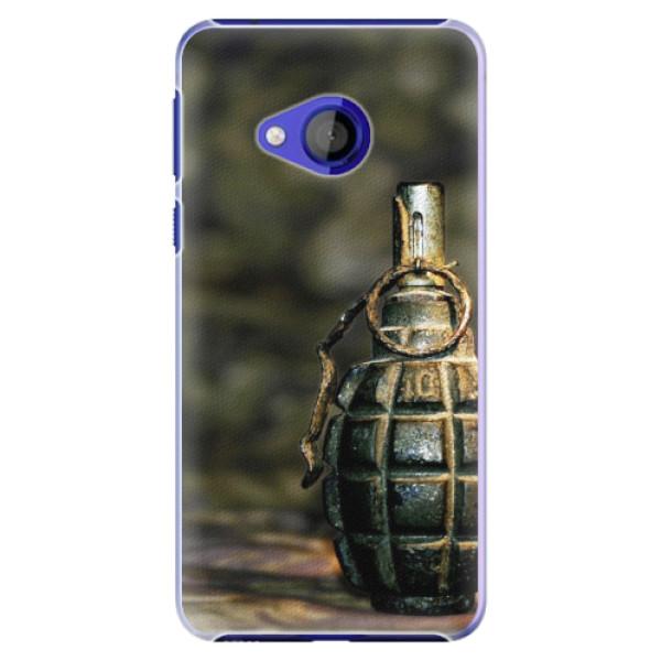 Plastové pouzdro iSaprio - Grenade - HTC U Play