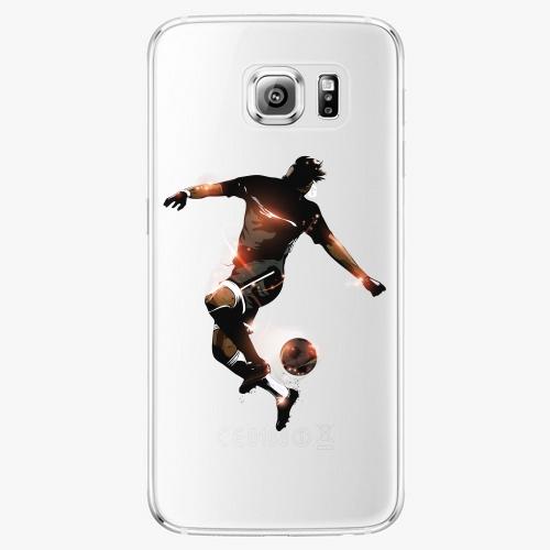 Plastový kryt iSaprio - Fotball 01 - Samsung Galaxy S6 Edge