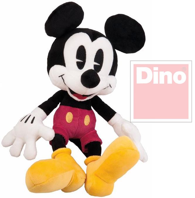DINO Plyš Disney myšák Mickey Mouse 25cm retro *PLYŠOVÉ HRAČKY*