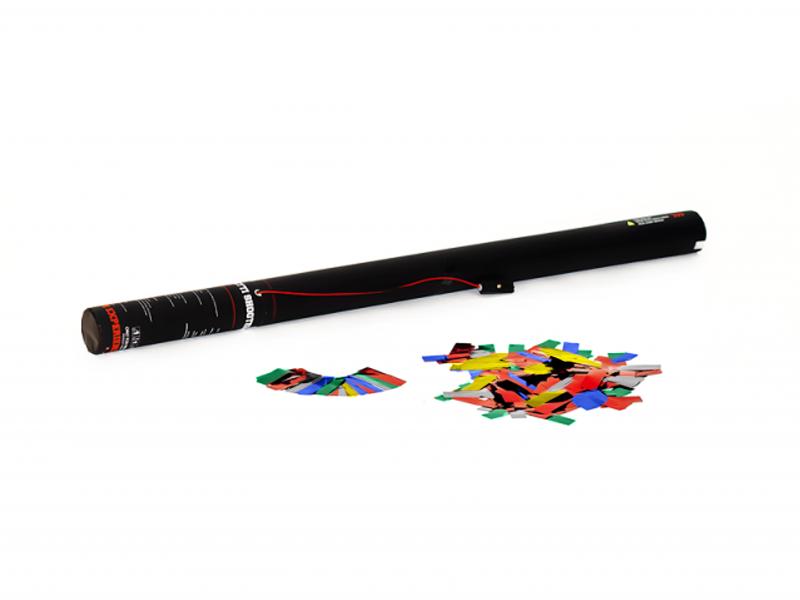 Tcm Fx elektronické dělo na konfety 80cm, metalické barevné konfety