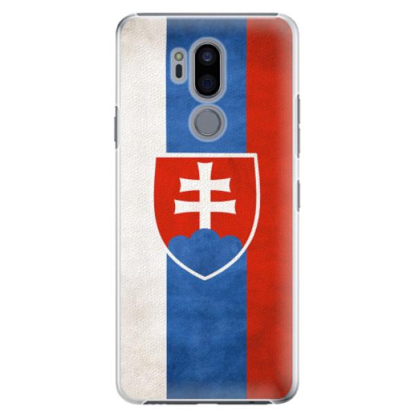 Plastové pouzdro iSaprio - Slovakia Flag - LG G7