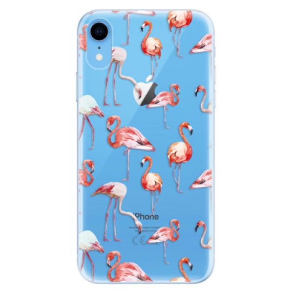 Odolné silikonové pouzdro iSaprio - Flami Pattern 01 - iPhone XR