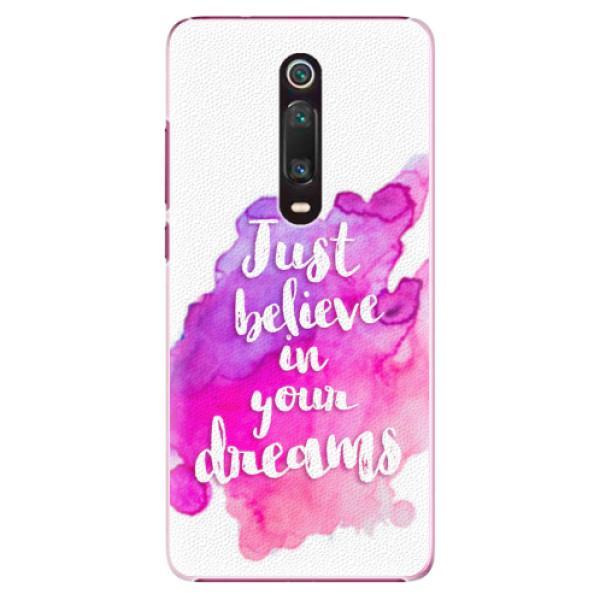 Plastové pouzdro iSaprio - Believe - Xiaomi Mi 9T