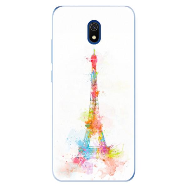 Odolné silikonové pouzdro iSaprio - Eiffel Tower - Xiaomi Redmi 8A