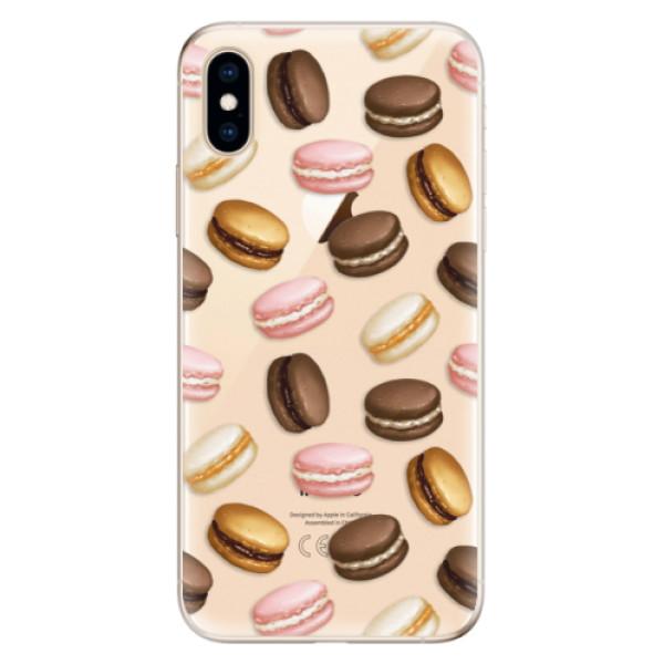 Odolné silikonové pouzdro iSaprio - Macaron Pattern - iPhone XS